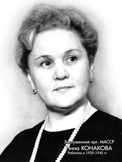 Конакова Нина Александровна