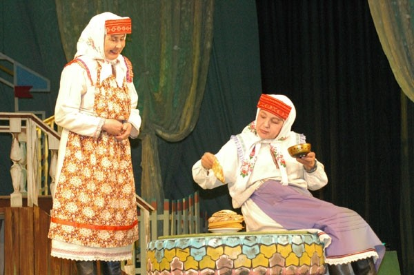 Свадебные блины по-чувашски
